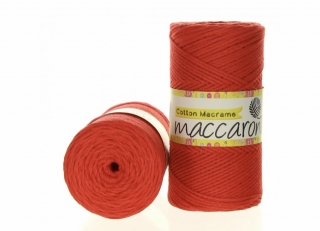 Cotton Macrame 2mm melounová 18-603