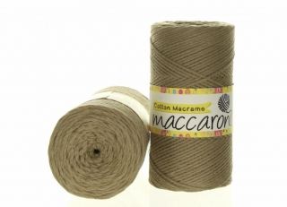 Cotton Macrame 2mm béžová 55-302